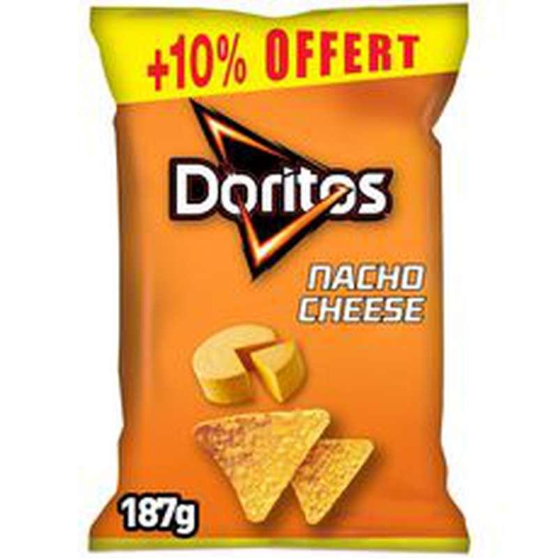 Tortilla goût nacho cheese, Doritos (170 g + 10% OFFERT)
