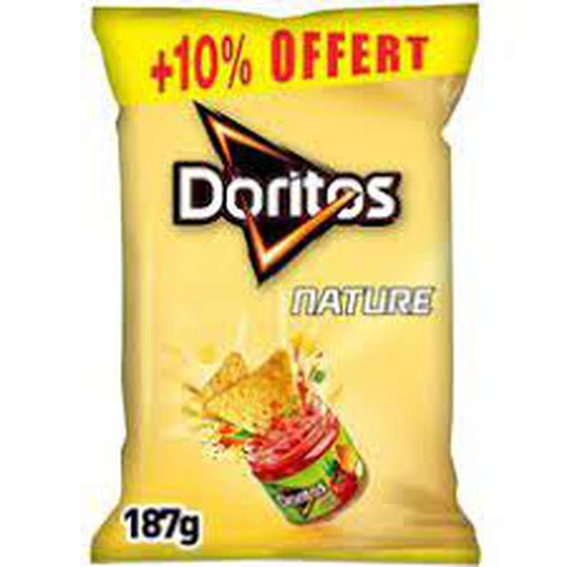 Tortilla nature, Doritos (170 g + 10% OFFERT)