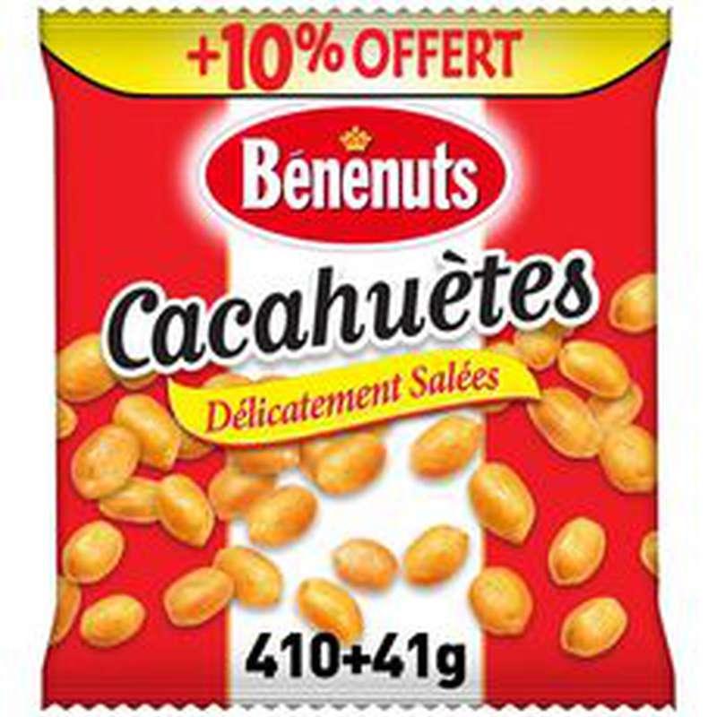 Cacahuètes grillées salées, Bénenuts (410 g + 10% OFFERT)