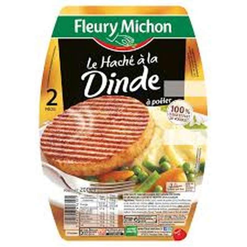 Le Haché de dinde, Fleury Michon (x 2, 200 g)