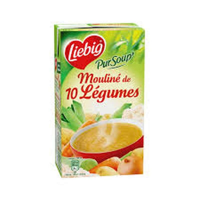 Mouliné de 10 légumes PurSoup',  Liebig (1 L)