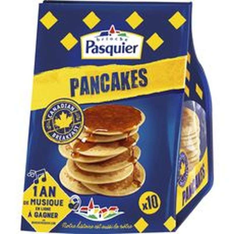 Pancakes nature, Pasquier (x 10, 350 g)