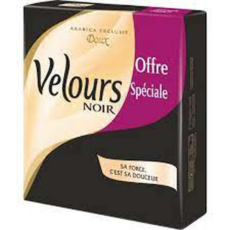Cafe moulu doux, Velours Noir LOT DE 2 (2 x 250 g)