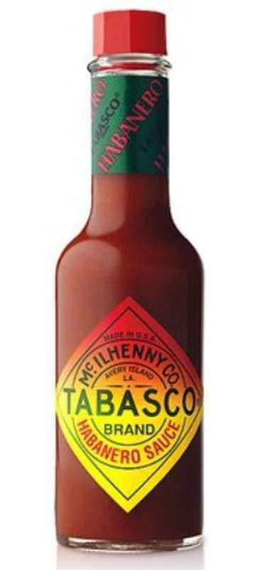 Tabasco extra fort au piment habanero (60 ml)
