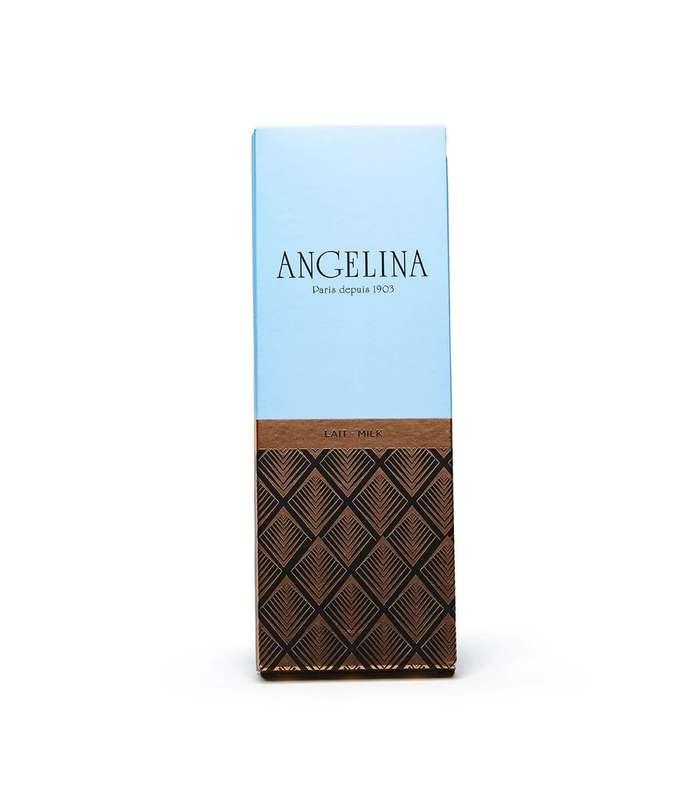 Tablette de chocolat au lait, Angelina (75 g)