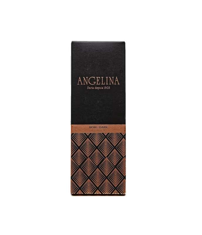 Tablette de chocolat noir, Angelina (75 g)