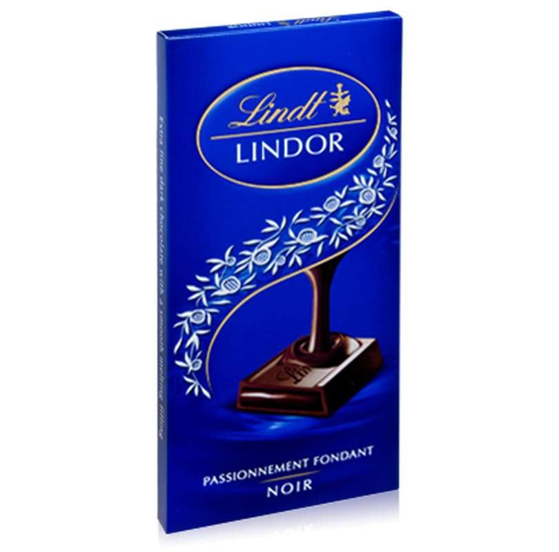 Chocolat noir Lindor, Lindt (150 g)
