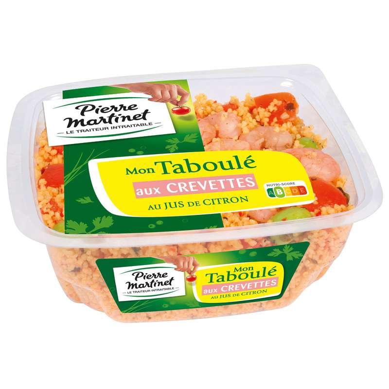 Taboulé aux crevettes, Pierre Martinet (250 g)