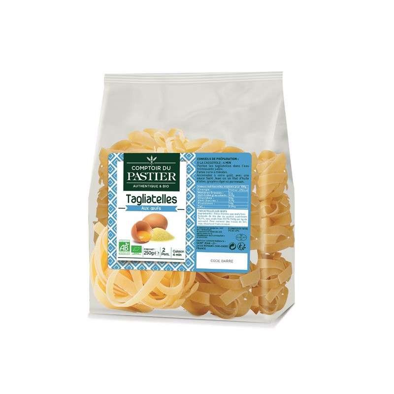 Tagliatelles fraîches aux oeufs BIO, Comptoir du Pastier (250 g)