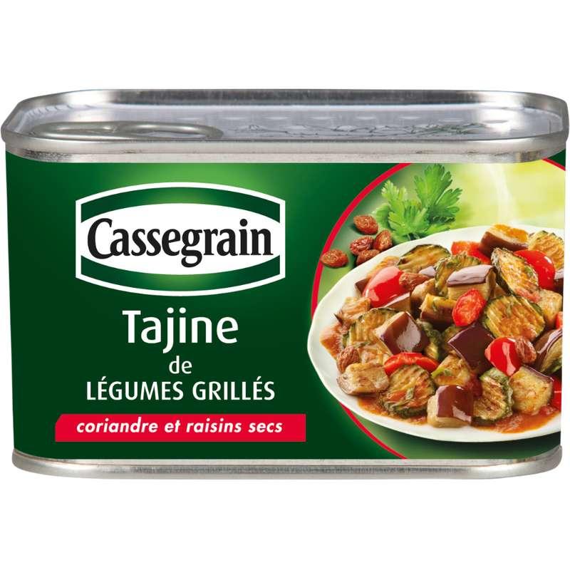 Tajine de légumes grillés, Cassegrain (375 g)