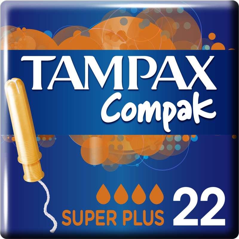 Tampons Compak super plus, Tampax (x 22)