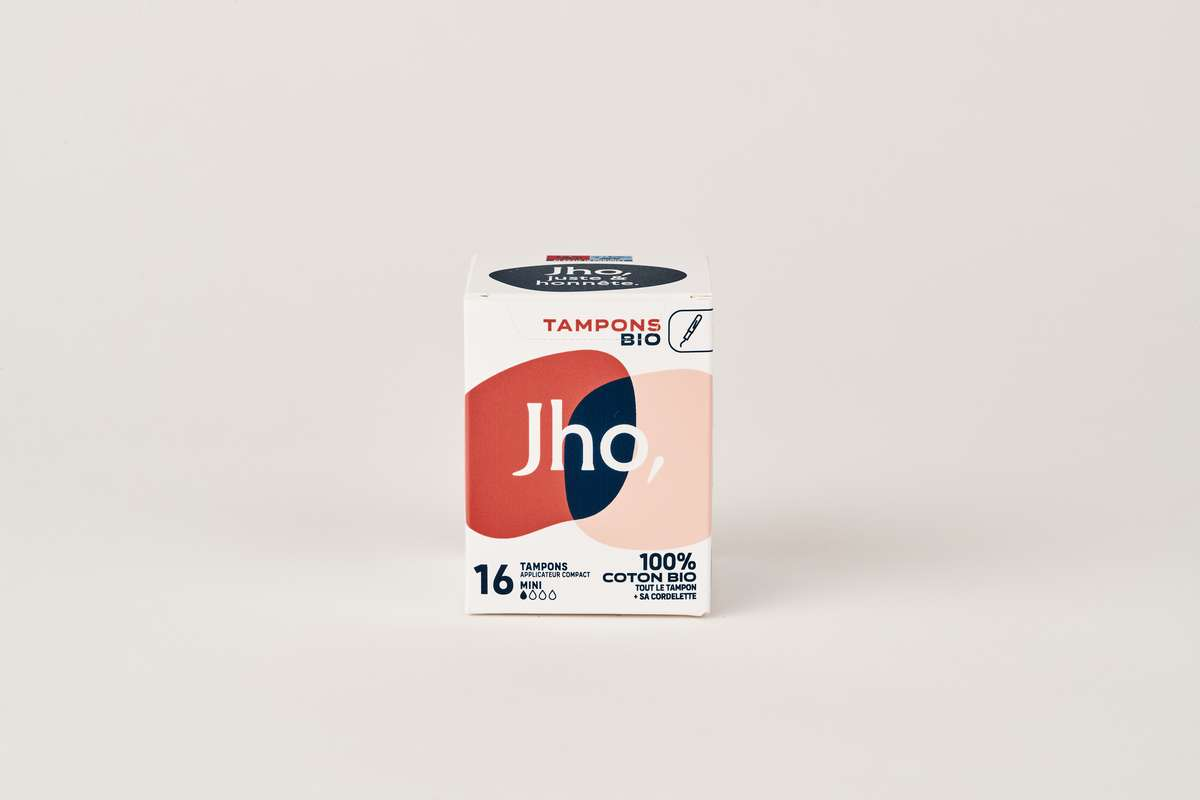 Tampons avec applicateur compact - Mini, JHO (x 16)