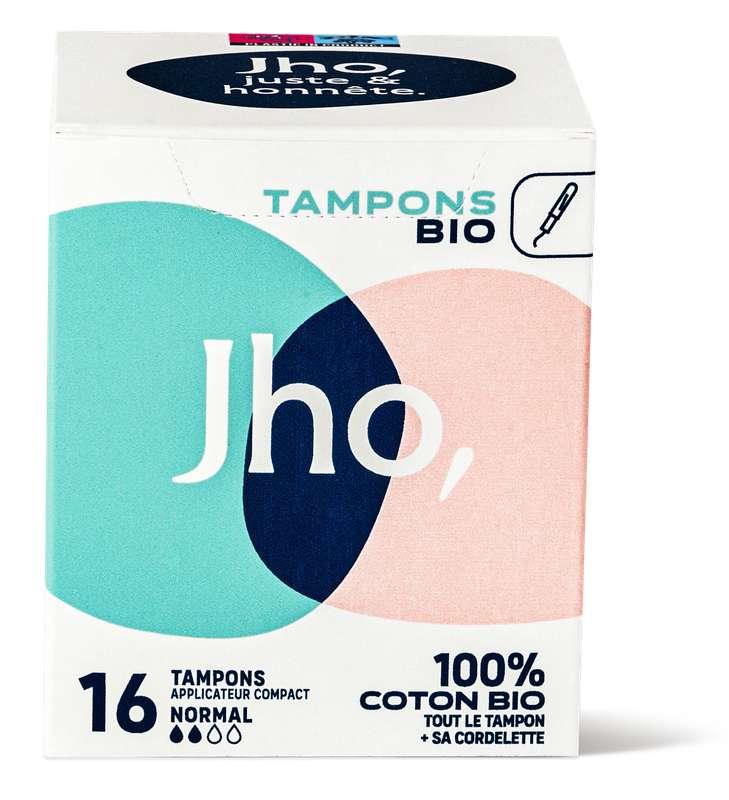Tampons avec applicateur compact - Normal, JHO (x 16)