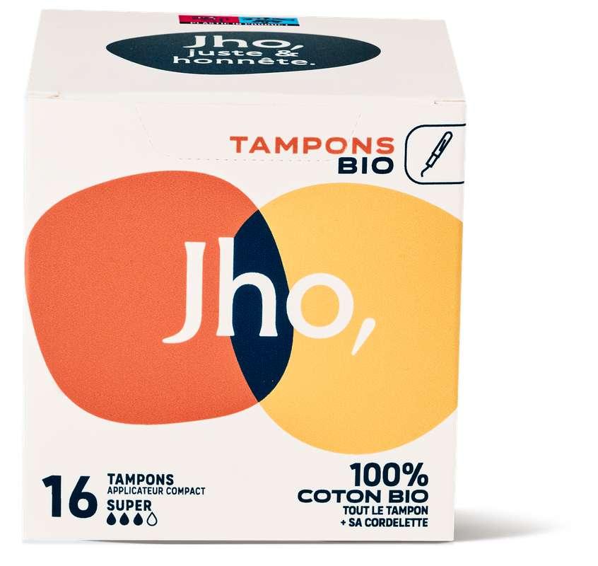 Tampons avec applicateur compact - Super, JHO (x 16)