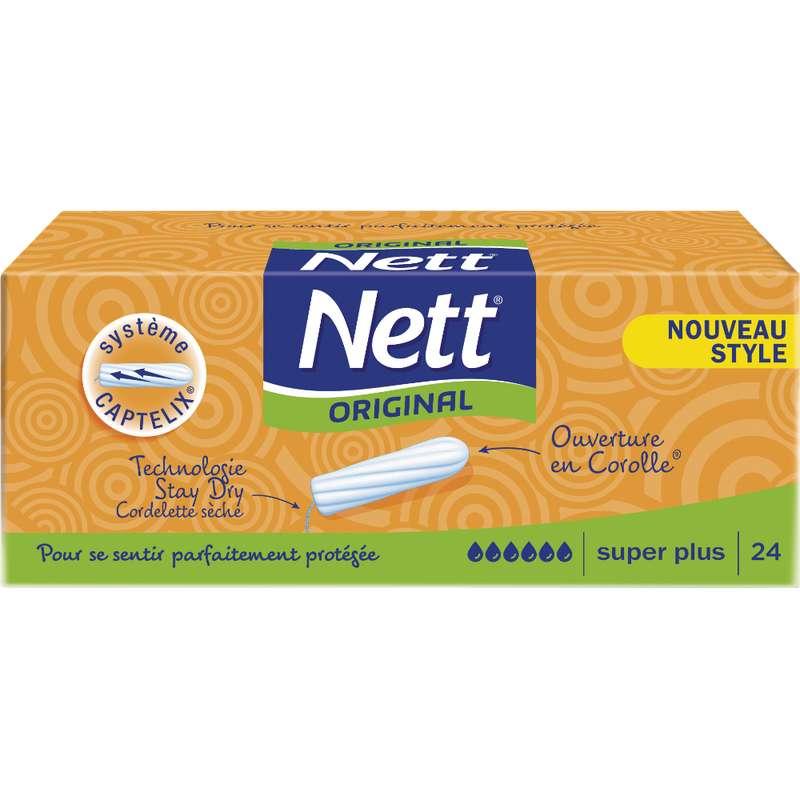 Tampons Super plus, Nett Original (x 24)