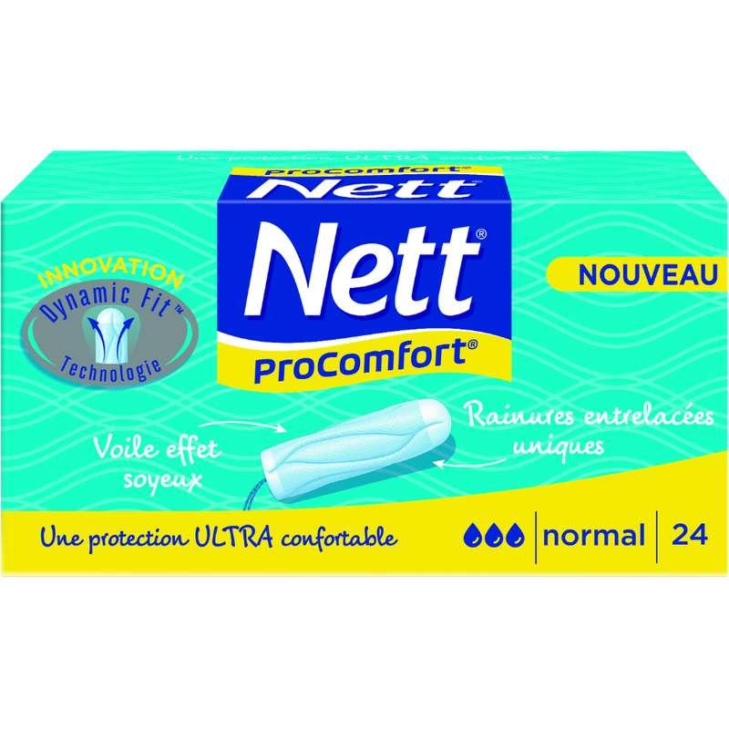 Tampons ProConfort normal, Nett (x 24)
