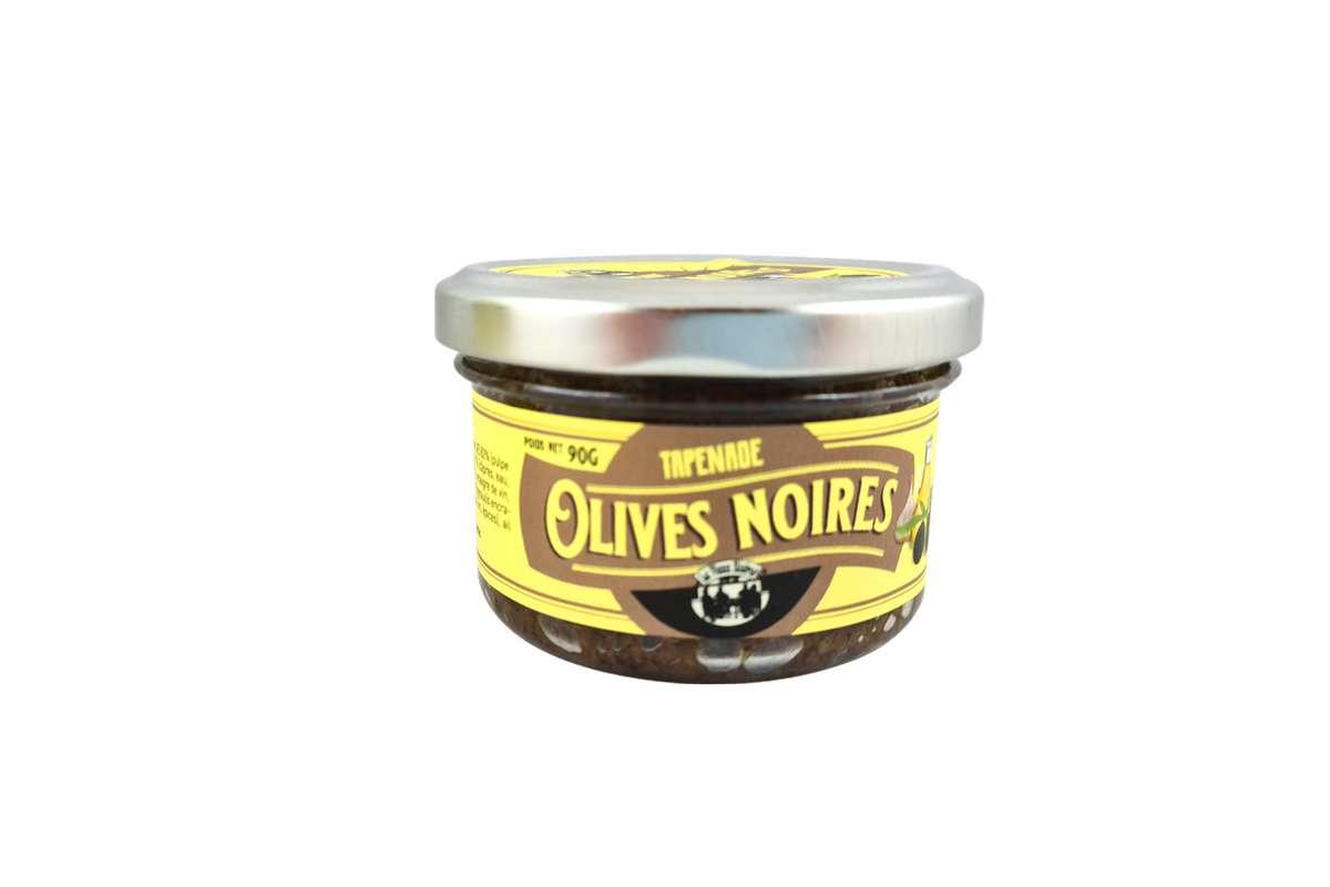 Tapenade aux olives noires, Le Vieux Bistrot (90 g)