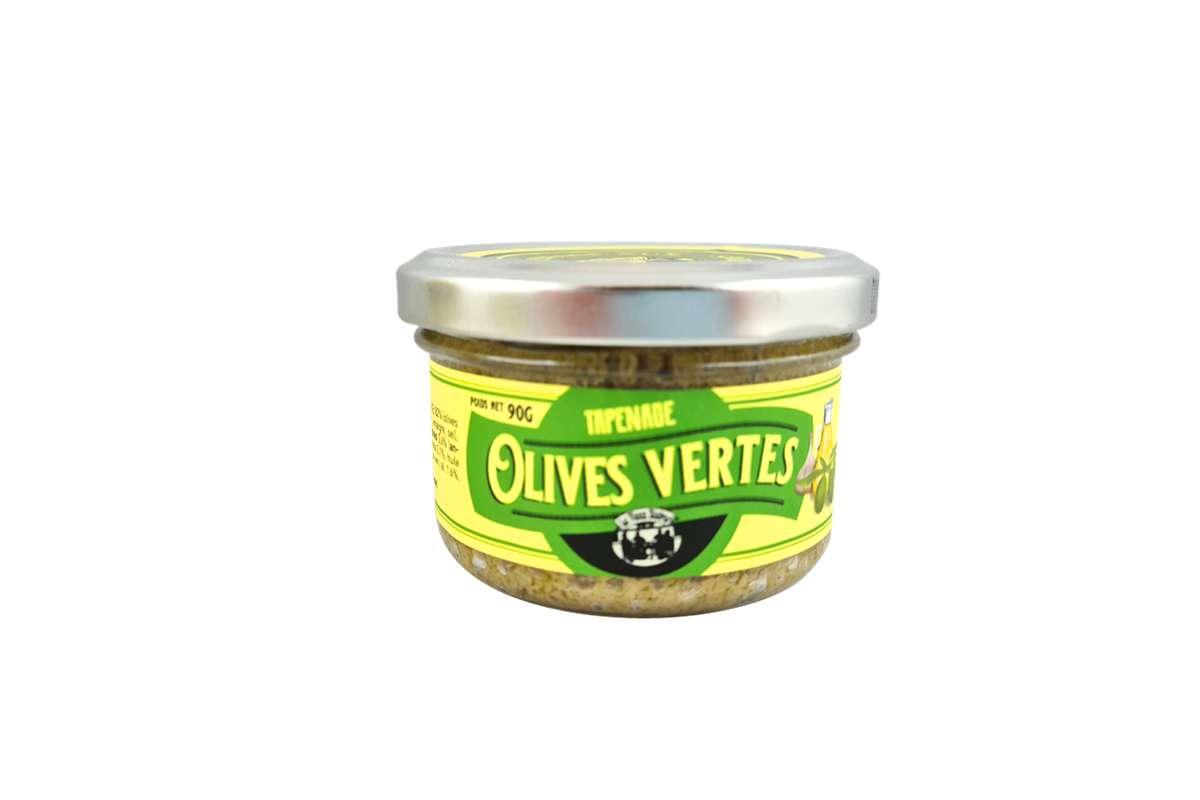 Tapenade aux olives vertes, Le Vieux Bistrot (90 g)