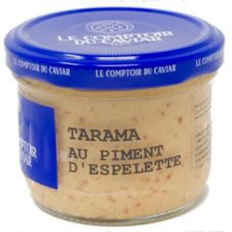 Tarama au piment d'Espelette, Le Comptoir du Caviar (90 g)