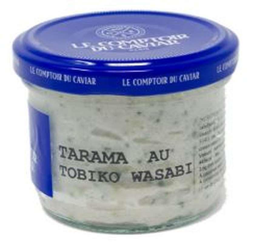 Tarama au tobiko wasabi 9%, Le Comptoir du Caviar (90 g)