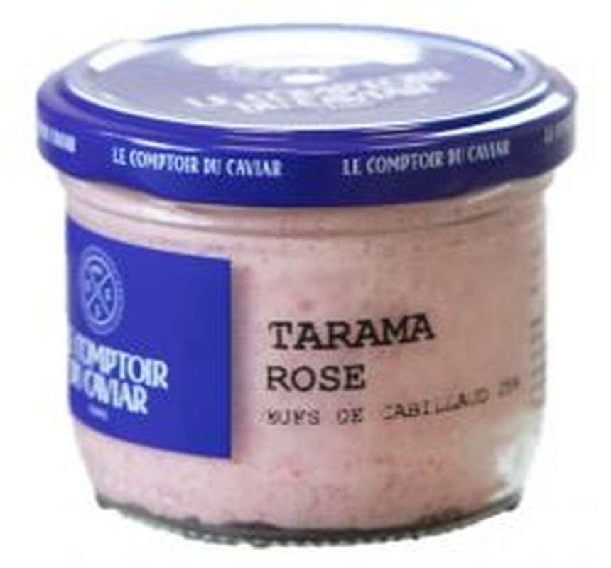 Tarama aux oeufs de cabillaud 25%, Le Comptoir du Caviar (90 g)