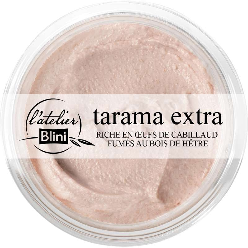 Tarama extra, L'atelier Blini (175 g)