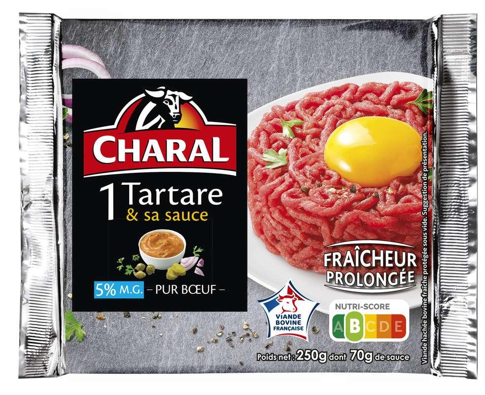 Tartare 5% + sauce, Charal (250 g)