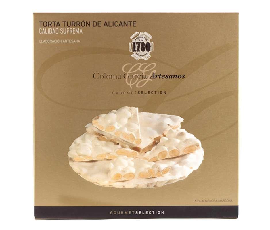 Tarte de turron gourmet d'Alicante IGP, Coloma Garcia (200 g)