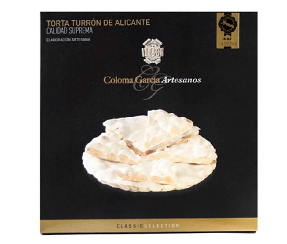 Tarte de turron d'Alicante IGP, Coloma Garcia (200 g)