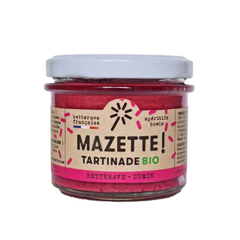 Tartinade betterave - cumin BIO, Mazette ! (100 g)