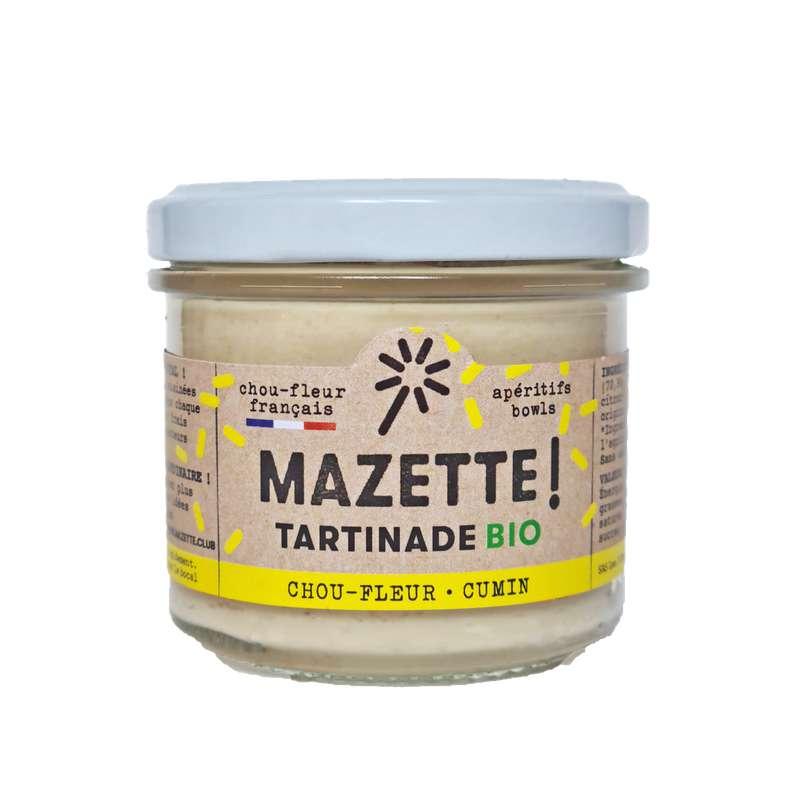 Tartinade chou-fleur - cumin BIO, Mazette ! (100 g)