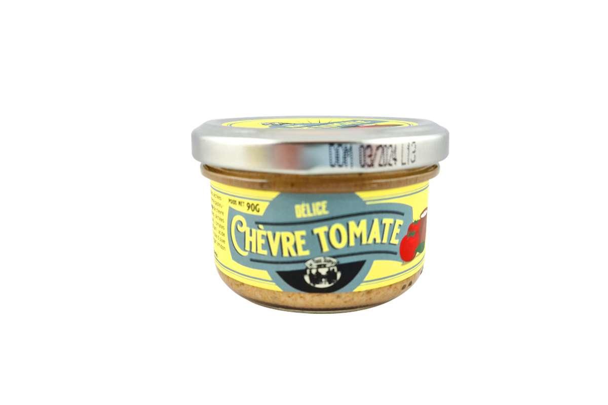 Tartinade de chèvre et tomates séchées, Le Vieux Bistrot (90 g)