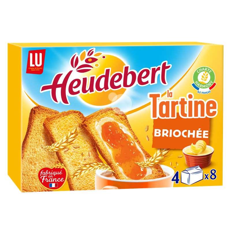 Tartines briochées, Heudebert (320 g)