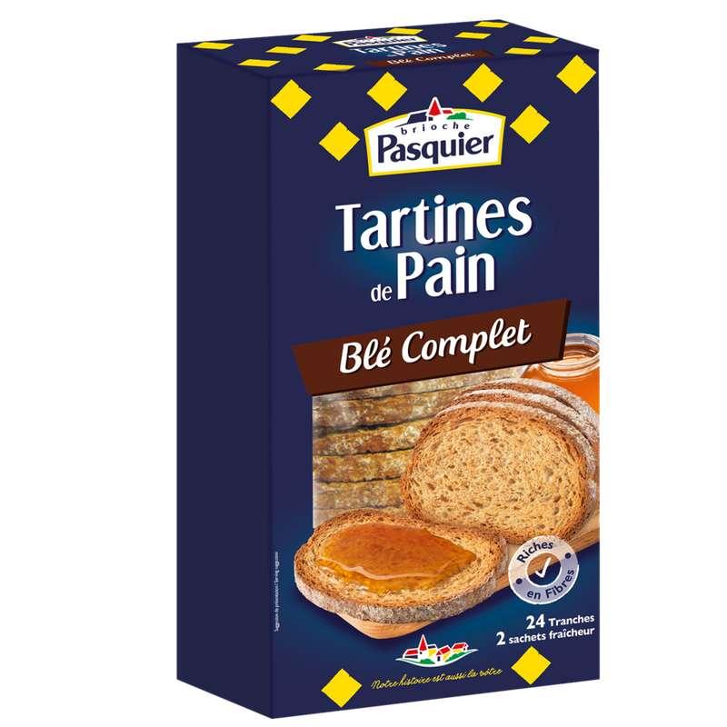 Tartines toastées au blé complet, Pasquier (240 g)