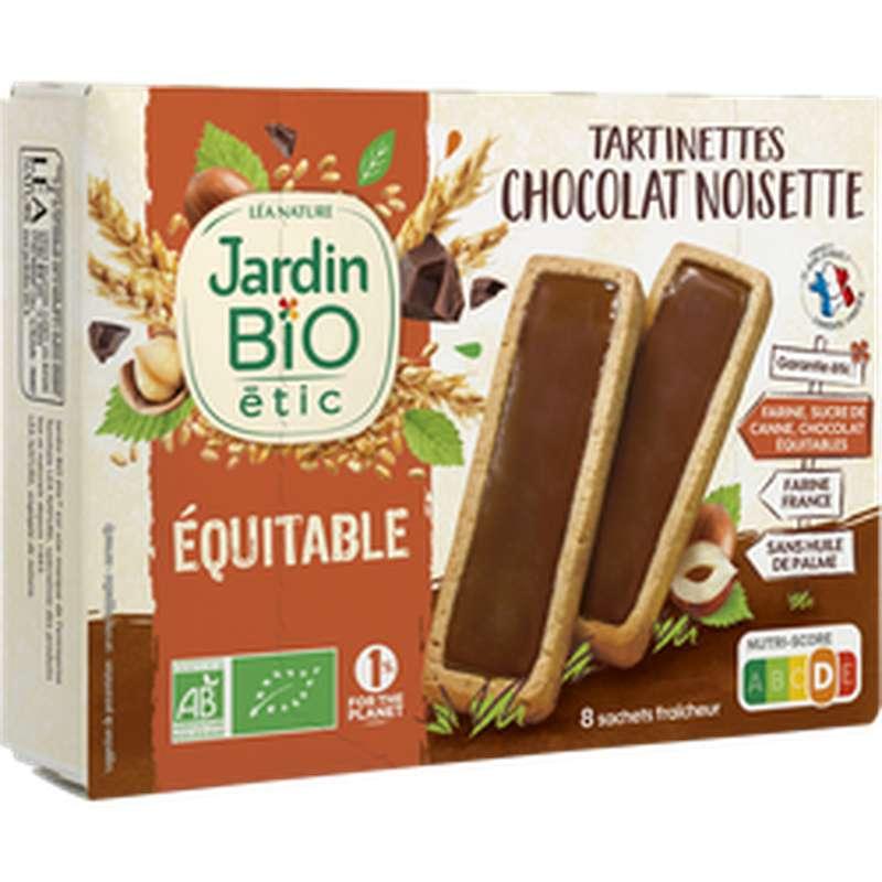 Tartinettes chocolat noisette BIO, Jardin Bio étic (138 g)