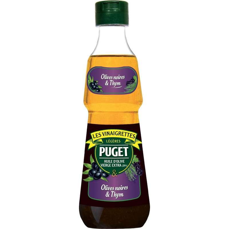 Vinaigrette olives noires et thym, Puget (330 ml)