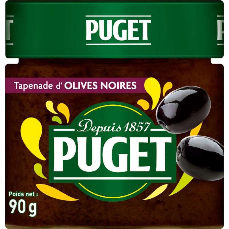 Tapenade d'olives noires, Puget (90 g)