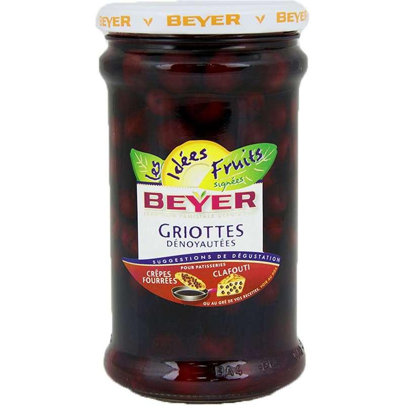 Griottes dénoyautées au sirop, Beyer (660 ml)
