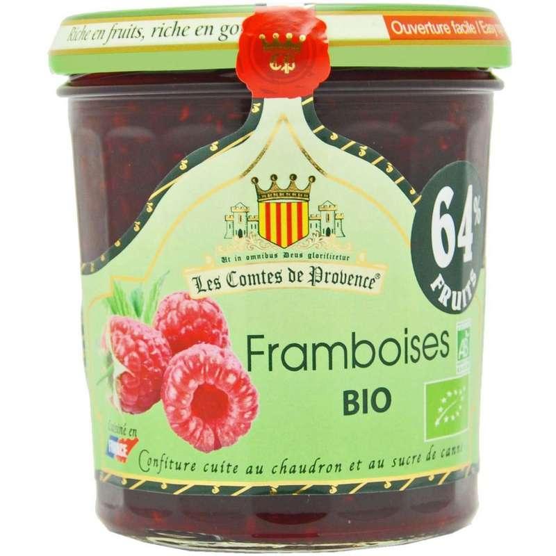 Confiture à la framboise BIO, Les comtes de Provence (350 g)