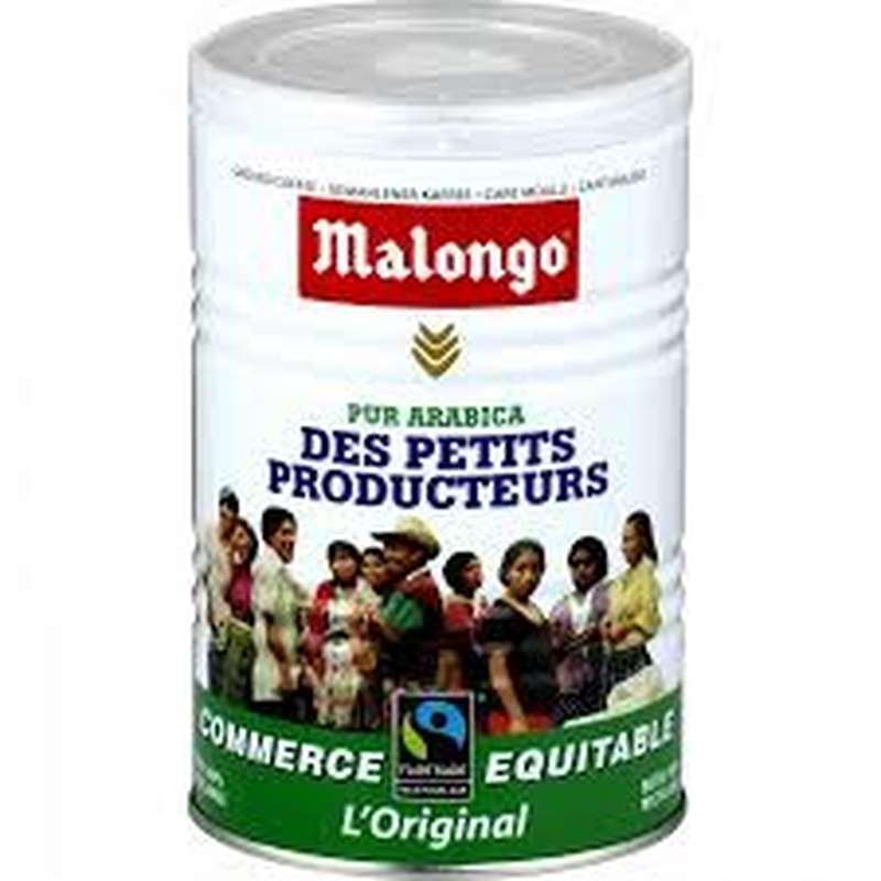 Café moulu équitable pur arabica, Malongo (250 g)