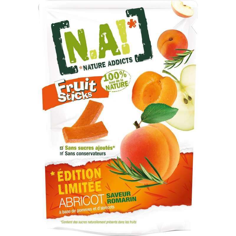 Fruit sticks édition limitée saveur abricot romarin, N.A! (40 g)