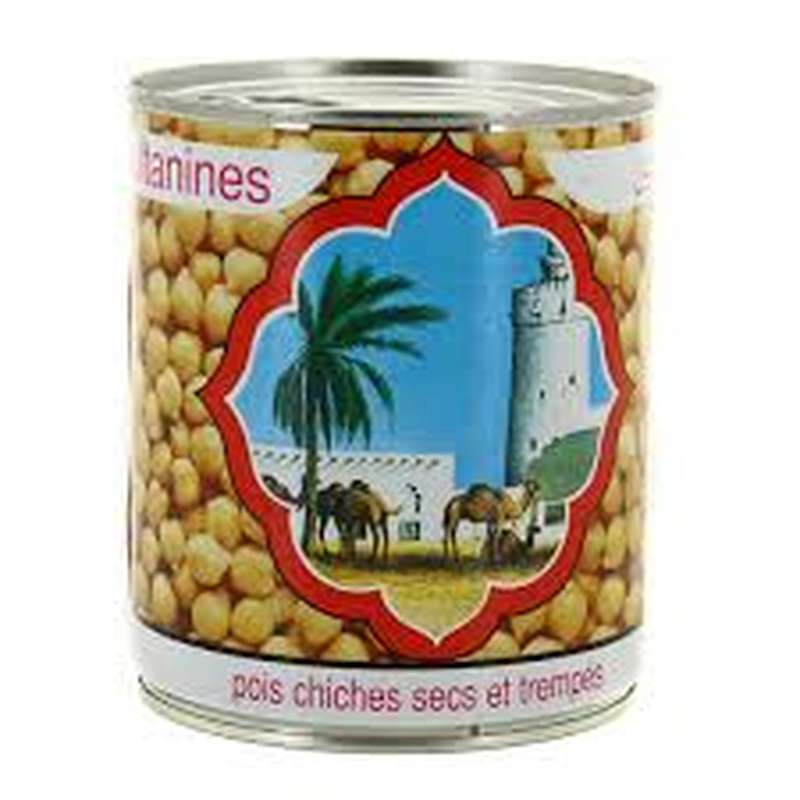 Pois chiches cuits, Sultanine (530 g)