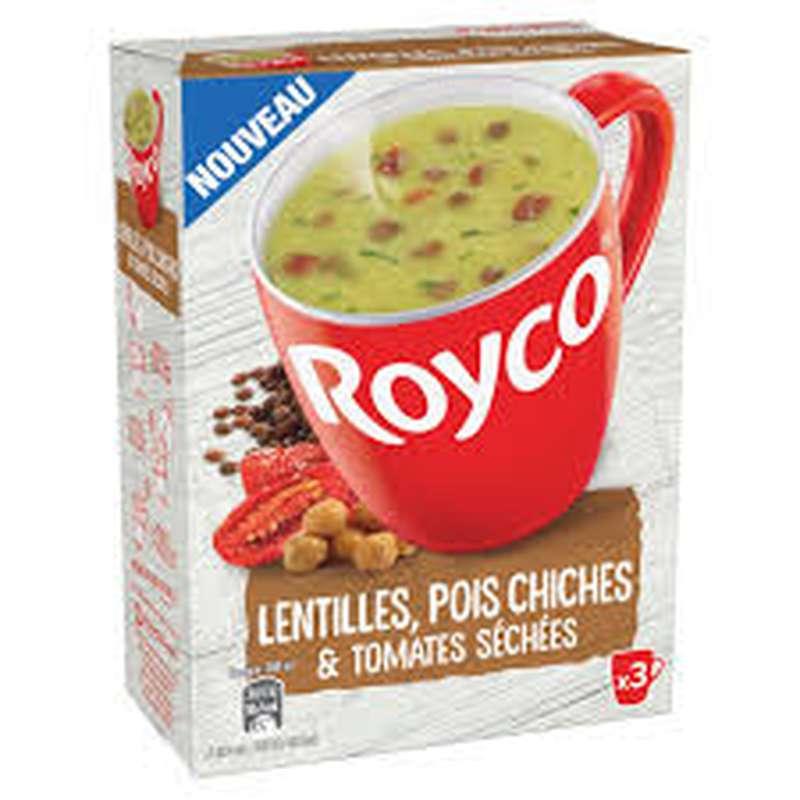 Soupe déshydratée patate douce, curry et graine de lin, Royco (60 cl)