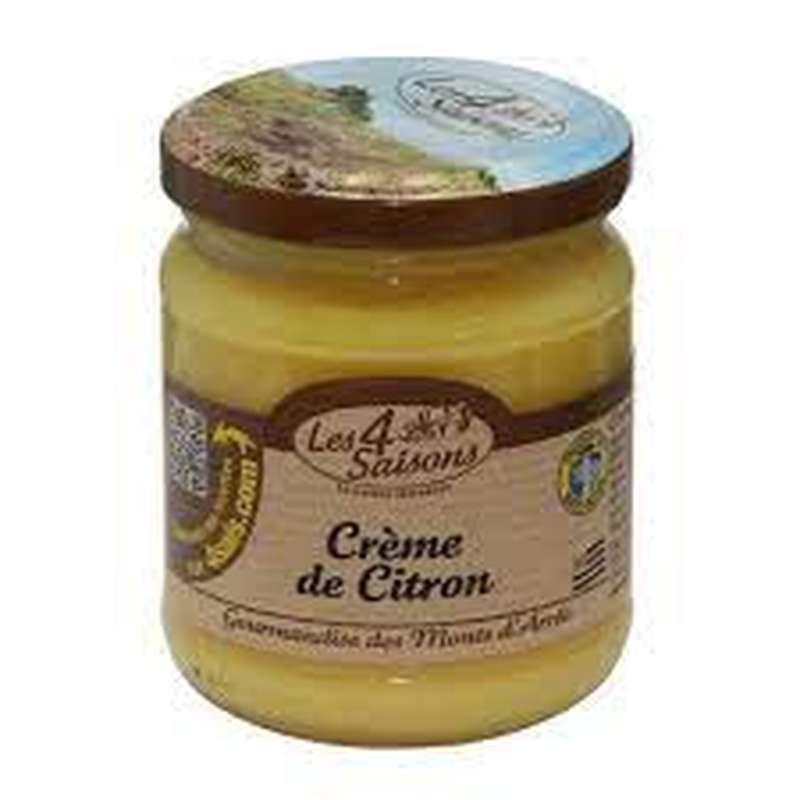 Crème de citron, Les 4 saisons (220 g)