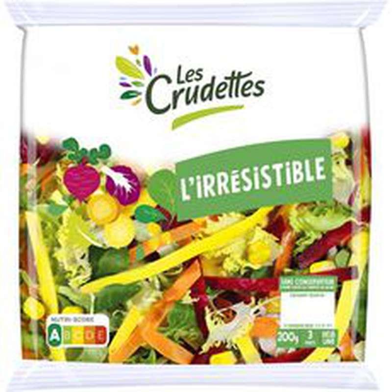 Salade l'irrésistible, Crudette (200 g)