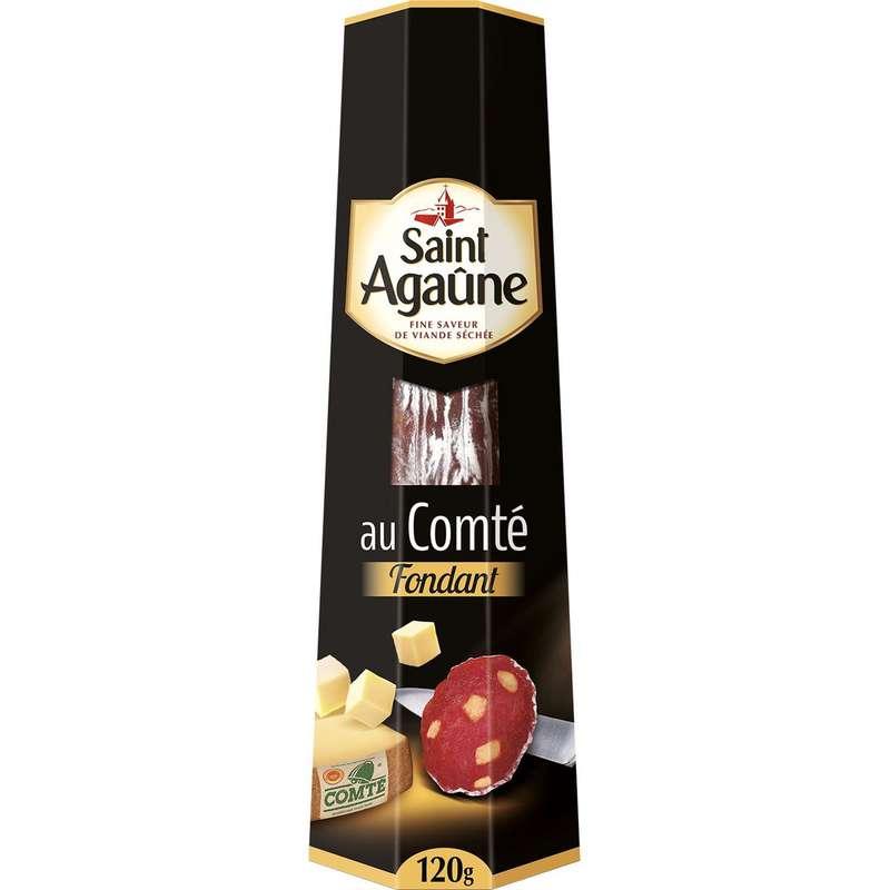 Saucisson au Comté fondant, Saint Agaûne (120 g)