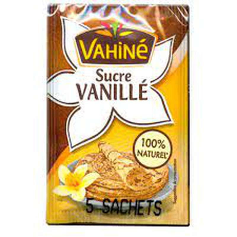 Sucre vanillé, Vahiné (x 5)