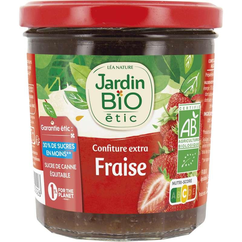 Confiture fraise BIO, Jardin Bio (320 g)