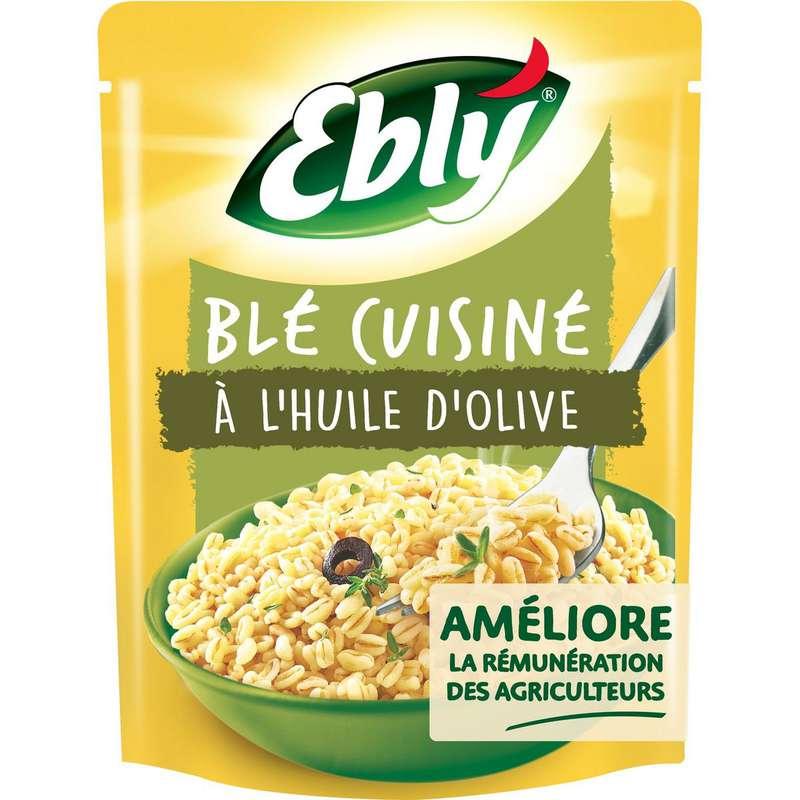 Blé précuit cuisiné à l'huile d'olive, Ebly (220 g)