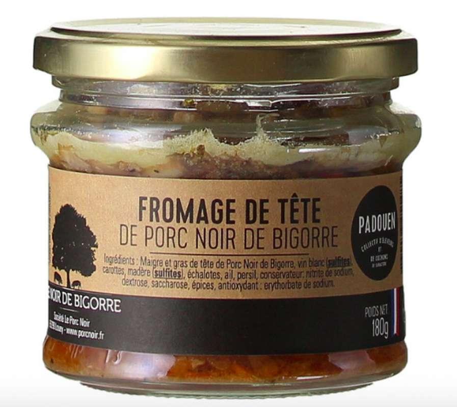 Terrine au fromage de tête Noir de Bigorre, Padouen (180 g)
